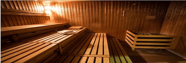 Infrared Sauna Interior